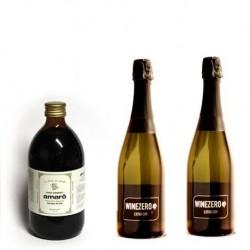 Conf. 2 bottiglie Extra Dry + 1 Amarò