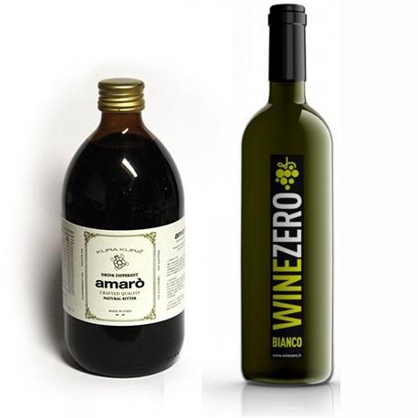Conf. 2 bottiglie Bianco Dry + 1 Amarò