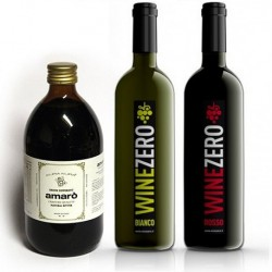 Conf. 3 bottiglie Rosso Dry + 2 bottiglie Bianco Dry + 1 Amarò