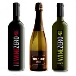 Conf. 1 bottiglia Extra dry+ 1 bottiglie Rosso Dry + 1 bottiglia Bianco Dry